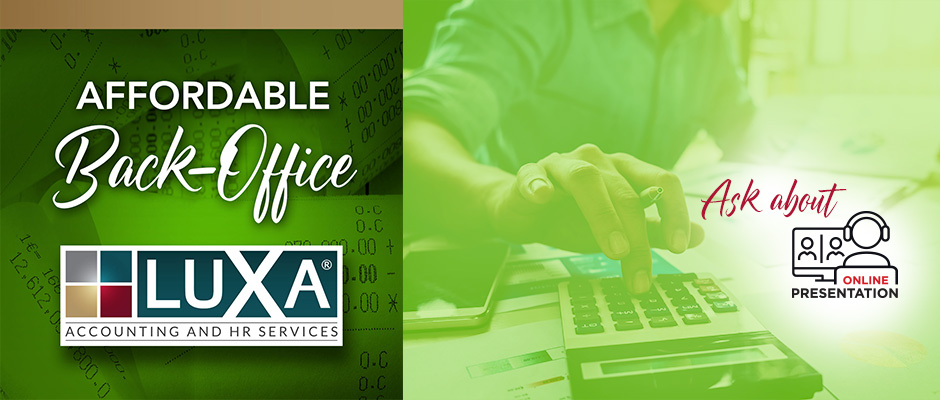 LUXA Affordable Back Office - Ask about online presentation