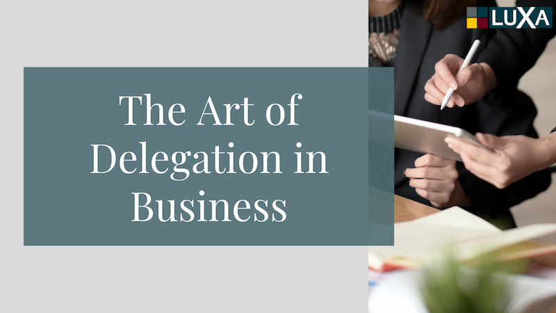 Tips for Successful Delegation