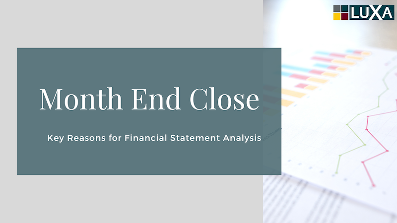 Month End Close Analysis