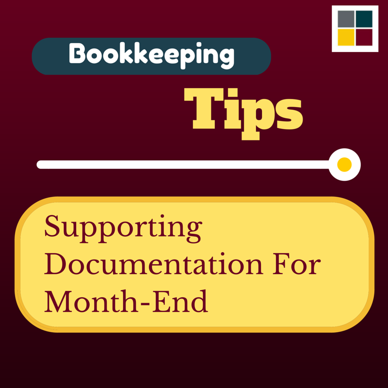 SupportingDocumentationForMonth-End